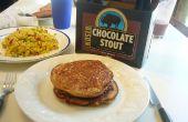 Bison au chocolat Stout bière crêpes