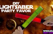 DIY Star Wars Lightsaber cotillons
