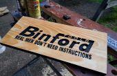 Faire un Binford outils signe