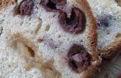 Morello cerise et massepain bundt cake
