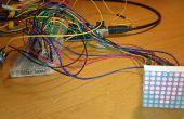 Tutoriel débutant : contrôler la matrice de LED avec 2 595 registres à décalage et POTENTIOMETRE