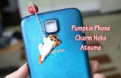 Tutoriel : Citrouille bricolage Neko Atsume Phone Charm - argile polymère
