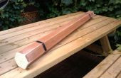 Bâton de pluie fabriqués à partir de bois Stores