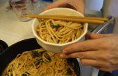 Udon nouilles à la Sauce Miso