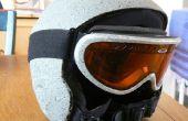 Rockhead snowboard casque et des lunettes de