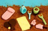 Comment créer des Mini comestibles Beach pour la décoration de gâteau