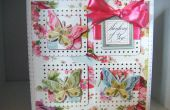 Comment faire un beau papillon Rose carte