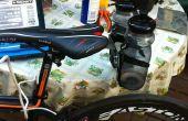 Cage arrière pour bouteilles pour vélo de route