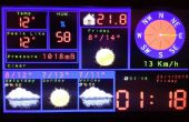 Arduino TFT prévision Station météo avec ESP8266