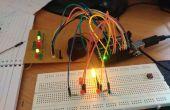Système d'éclairage trafic Arduino.