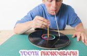 Phonographe de dent !