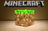 Perler Bead bloc Minecraft
