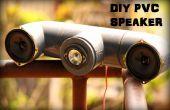 Haut-parleur de PVC bricolage