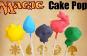 Magic the Gathering Cake Pops