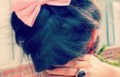Tutoriel chignon cheveux