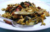 Scramble de végétalien sans Gluten réfrigérateur Tofu !