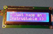 Comment connecter un écran LCD de série à un Arduino UNO