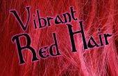Maintien dynamique cheveux roux