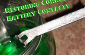 Restauration corrodé des Contacts de la batterie