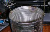 Revêtement tin can melting-pot, mélange bouilloire pot ou peintres.