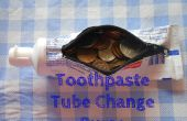 Tube de dentifrice changement Purse