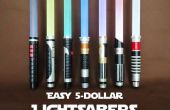 Facile Lightsabers $5