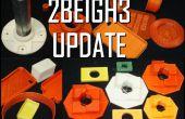 2BEIGH3 imprimante 3D mise a jour et appel aux testeurs