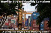 Comment acheter un conteneur d'expédition