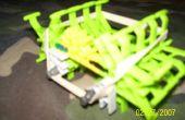 Veux dire Green KNEX Machine Spider