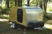 Construisez votre propre remorque Teardrop de Camping !