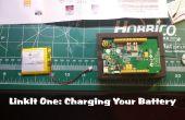 La recharge de la batterie de LinkIt One