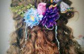 Faites votre propre ornement floral faerie cheveux ! Idéal pour les mariages et les costumes.