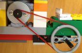 Motoriser une voiture LEGO par un moteur d'un lecteur de DVD Broken