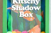 Boîte d'ombre kitsch