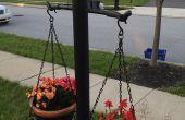 Rendant le voisin jaloux avec lumière post jardin