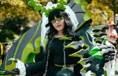 Dead Master Cosplay Costume (Black Rock Shooter)