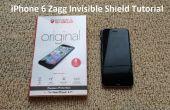 Tutoriel : iPhone 6 Zagg Invisible Shield