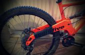 Protection de chaîne-Slap de cadre de vélo