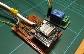 En utilisant un arduino esp8266 pour commander un relais à l'aide d'accueil-assistant