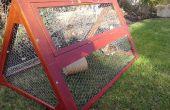 Coup de masse en plein air tracteur de lapin