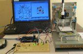 Mini CNC machine Arduino basé et Adafruit pilote moteur L293D v1 & 2 * Mini Stepper CD/lecteur DVD #1