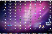 Capture d'écran de l'ordinateur de bureau comme farce Wallpaper (Mac Edition)