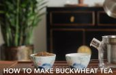 Comment faire le thé de sarrasin (Soba thé) ?