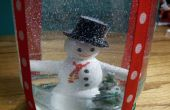 Comment faire une boule à neige vacances