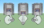Modèle de moteur d'impression 3D