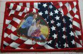 Soutenir nos troupes avec un patriotique tissu Photo carte postale - SewUseful concours