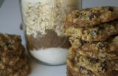 Oatmeal Raisin Cookie dans un bocal