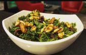 Karine & Broccolini salade avec vinaigrette érable
