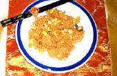 Comment faire le riz frit Kimchi au poulet