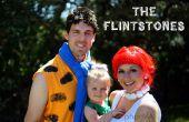 Les Costumes d'Halloween de famille Pierrafeu